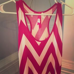 Brand new pink & white swimsuit cover dress.